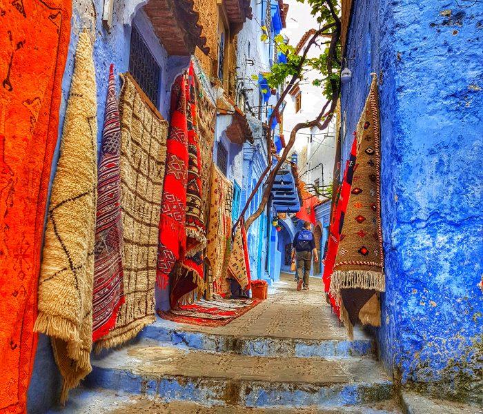 Pesona Negeri Maghribi – Chefchaouen, Mutiara Biru yang molek